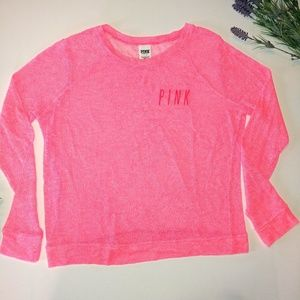 Victoria's Secret PINK Sweater Size Large Logo